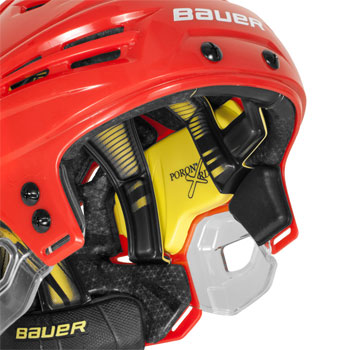 Bauer RE-AKT Hockey Cascos blanco (3)